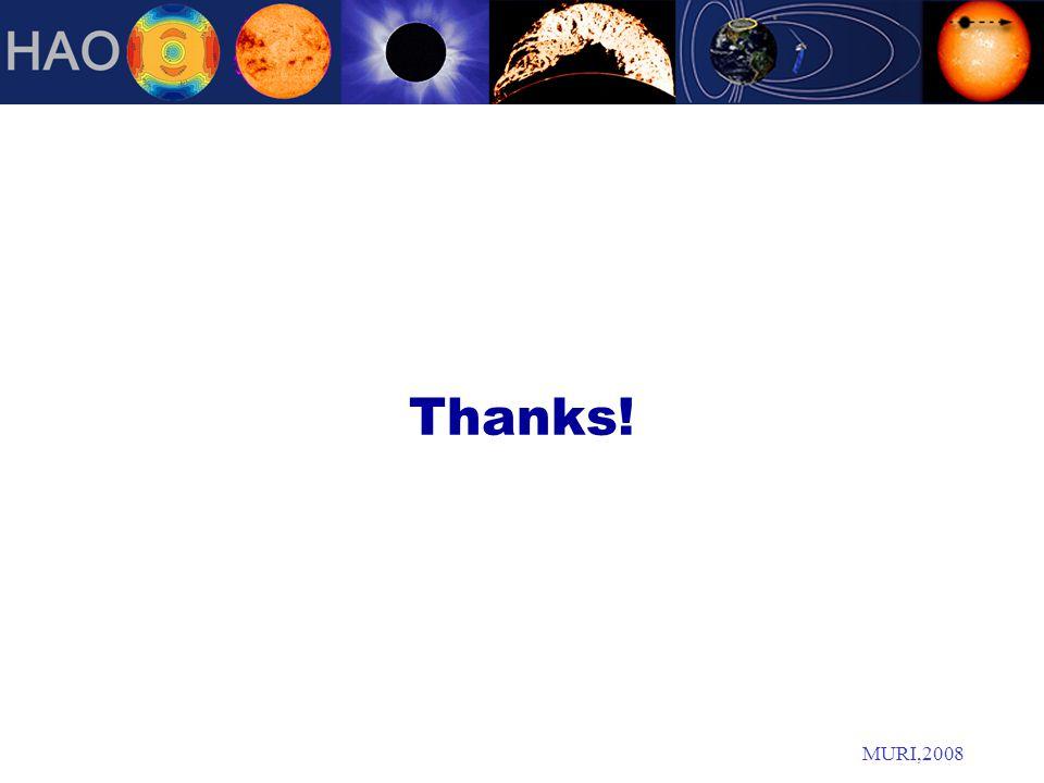 MURI,2008 Thanks!