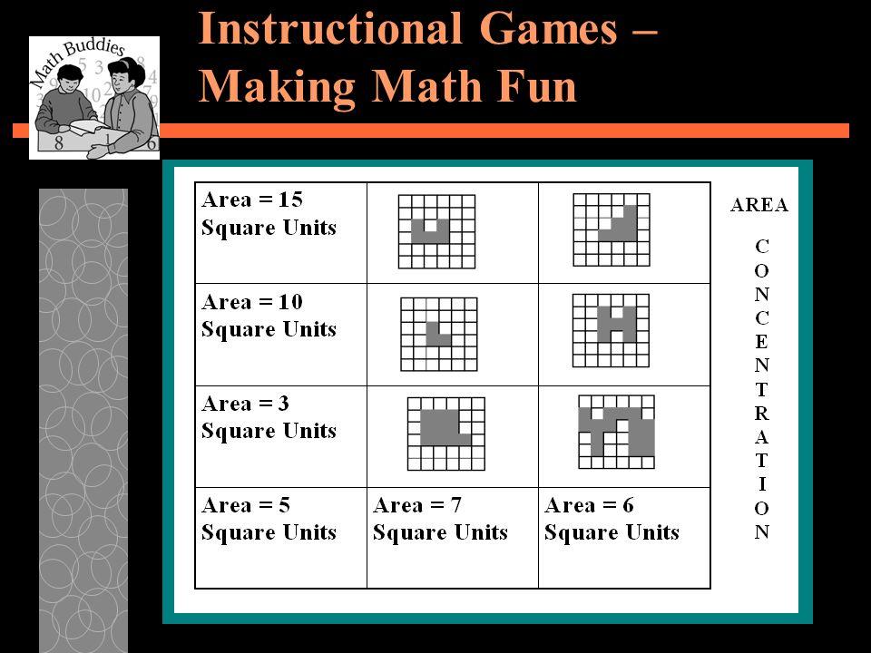 Instructional Games – Making Math Fun