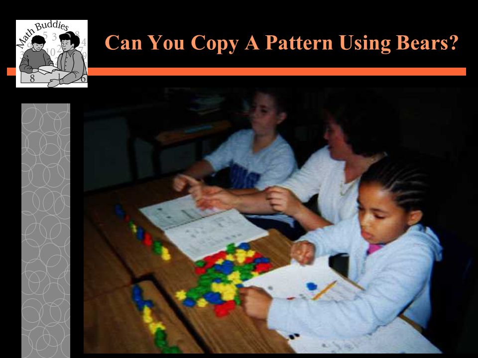 Can You Copy A Pattern Using Bears