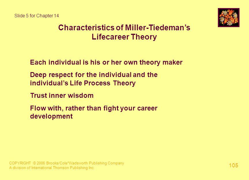 COPYRIGHT © 2006 Brooks/Cole*Wadsworth Publishing Company A division of International Thomson Publishing Inc. 105 Slide 5 for Chapter 14 Characteristi