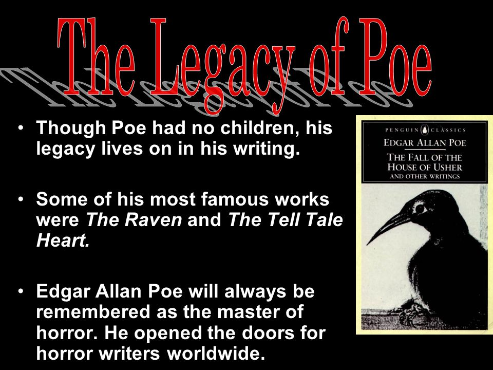 Starting in 1949, every January the 19 th, an anonymous man dressed in a black coat and hat with a scarf covering his face would visit Poe's grave.