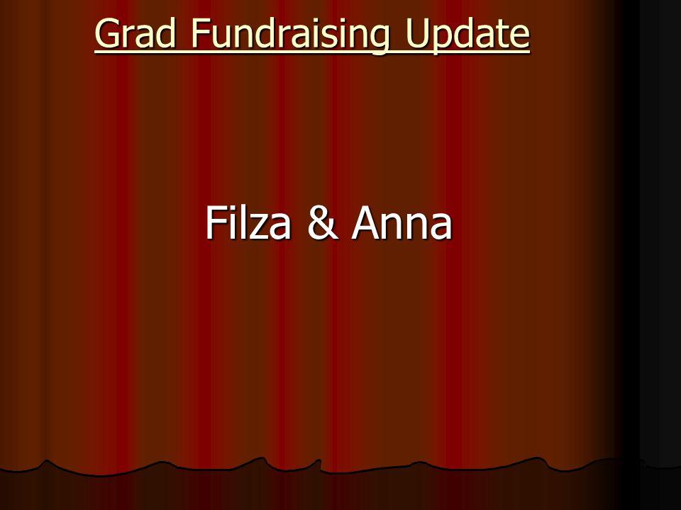 Grad Fundraising Update Filza & Anna