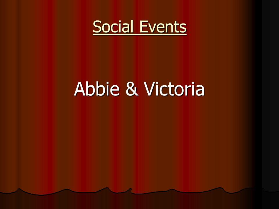 Social Events Abbie & Victoria