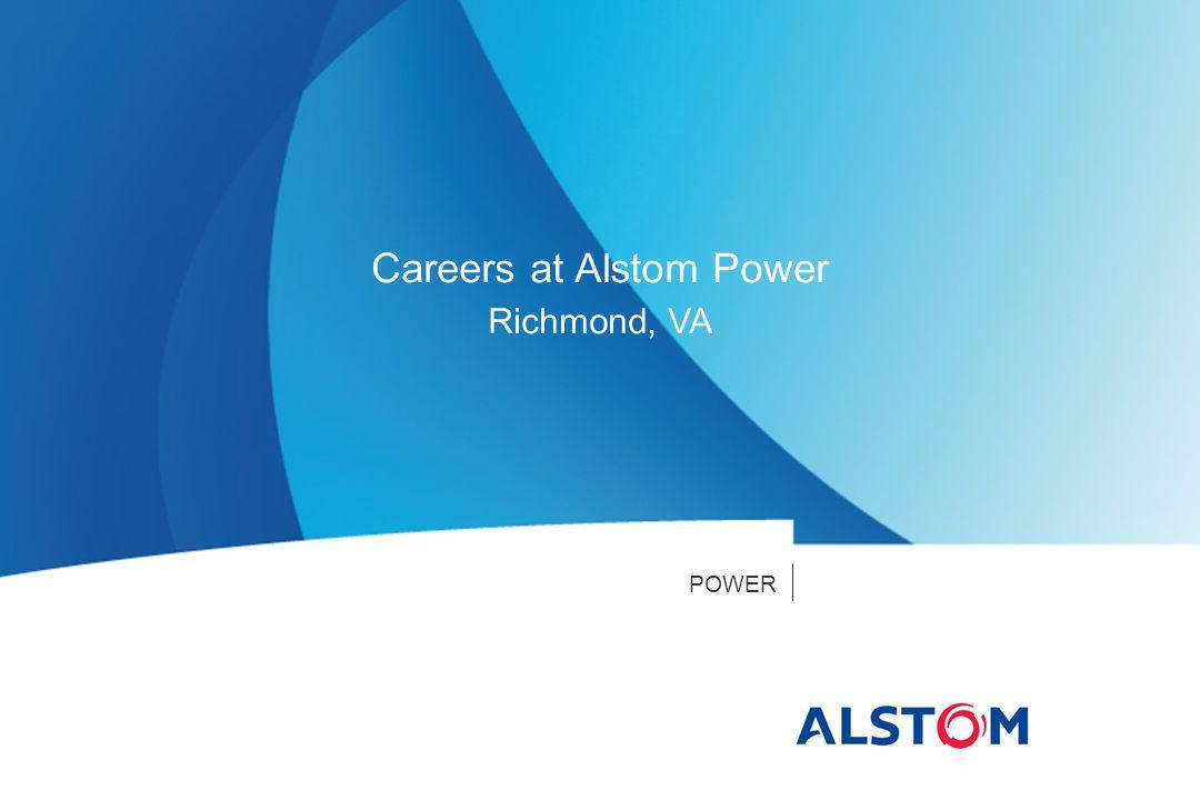 POWER Careers at Alstom Power Richmond, VA