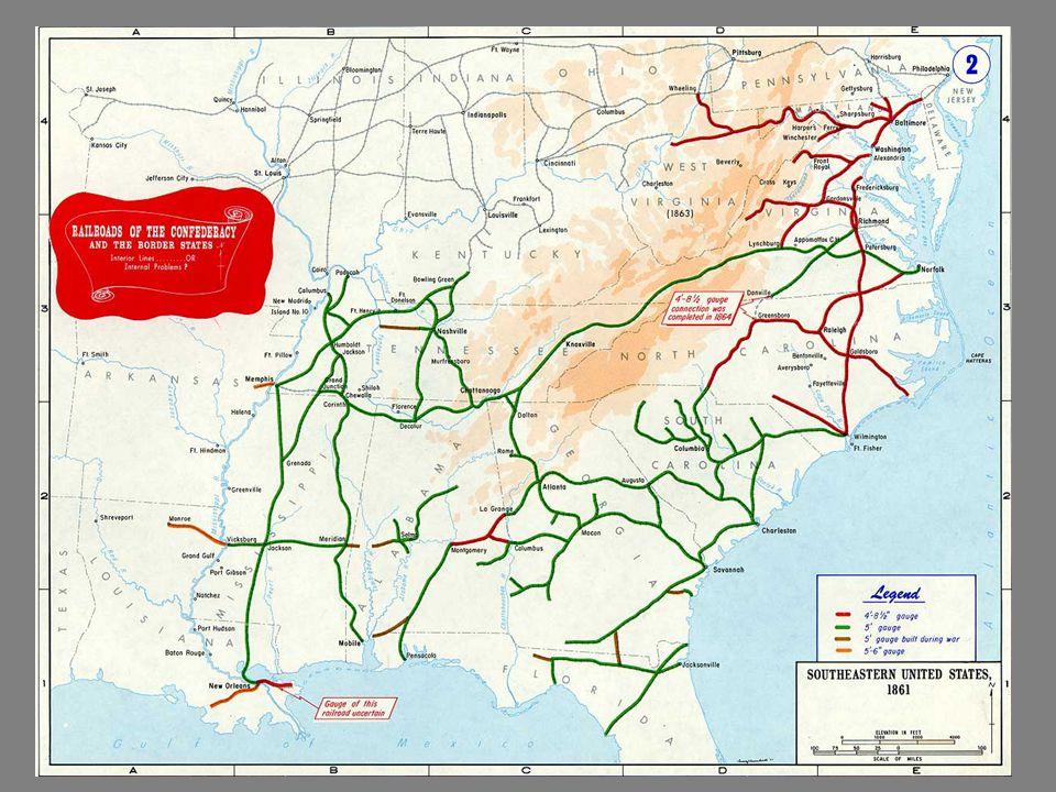VS. Ulysses S. Grant George McClellan Robert E. Lee Thomas Stonewall Jackson The North The South
