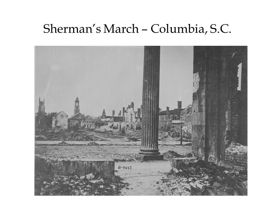 Sherman's March – Columbia, S.C.