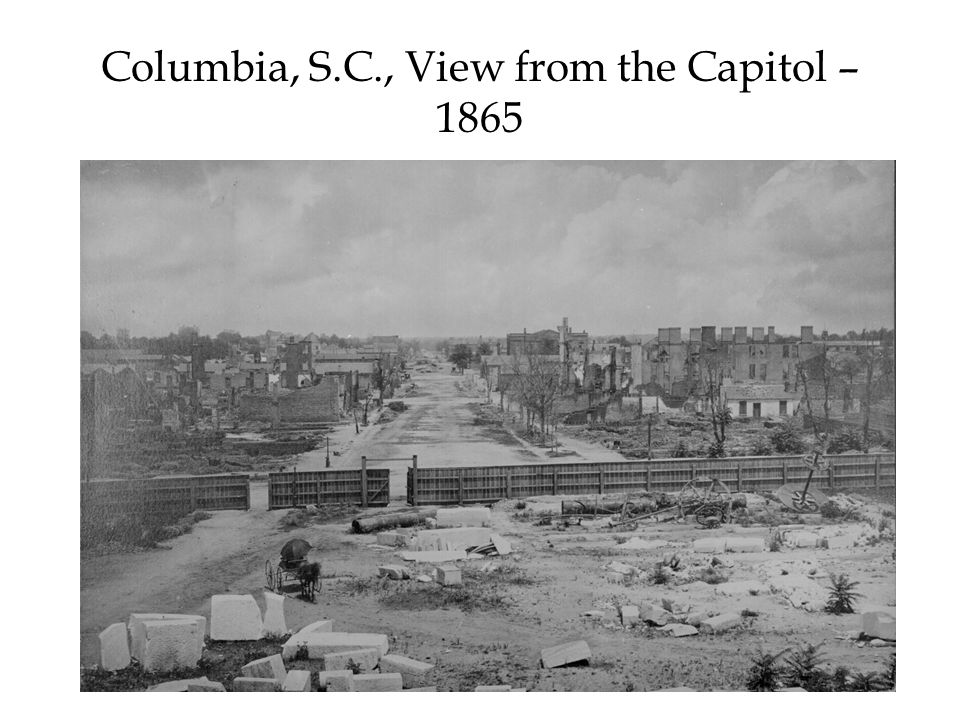 Columbia, S.C., View from the Capitol – 1865