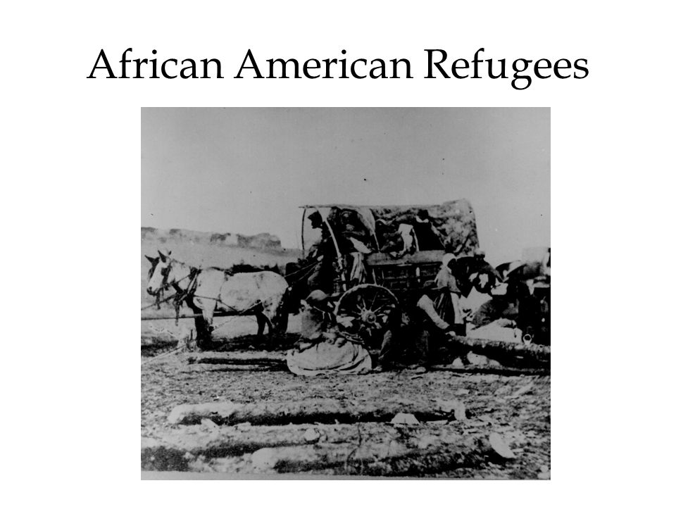 African American Refugees