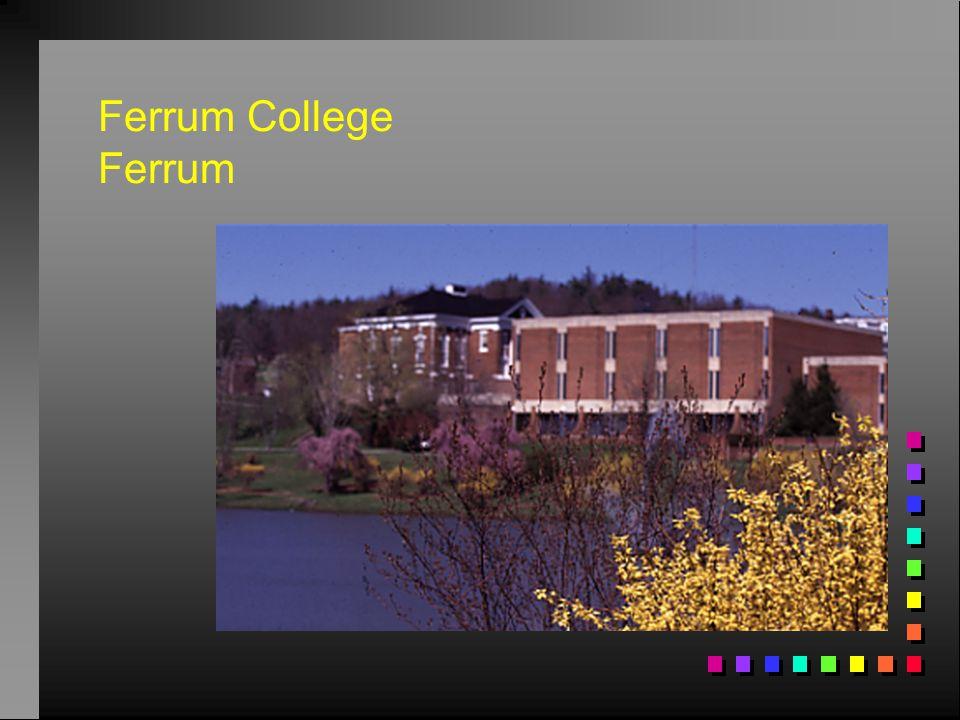 Ferrum College Ferrum