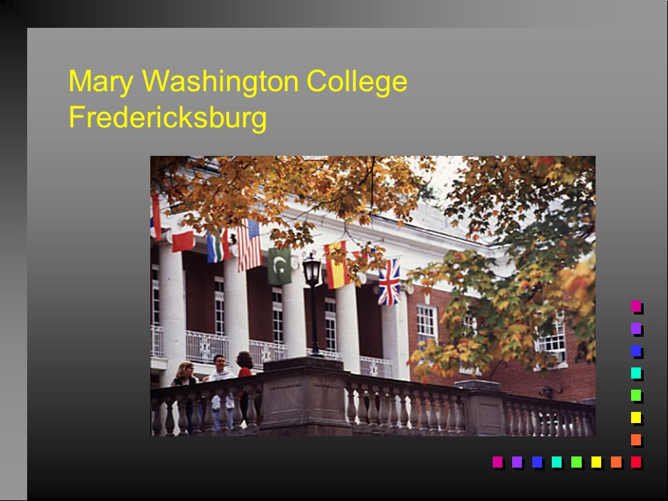 Mary Washington College Fredericksburg