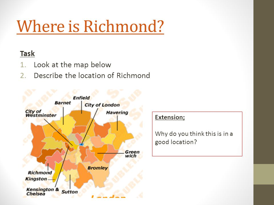Where is Richmond.