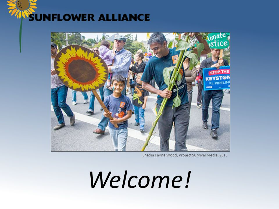 Learn about the Sunflower Alliance Enjoy dinner and meet the Sunflower Alliance members from our working committees.