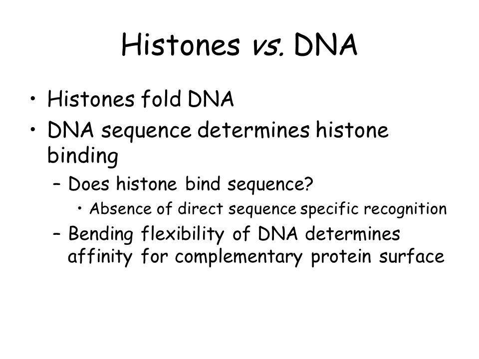 Histones vs.