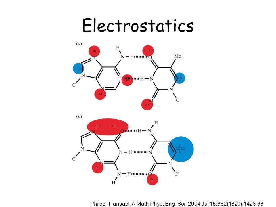 Electrostatics Philos. Transact. A Math Phys. Eng. Sci. 2004 Jul 15;362(1820):1423-38.