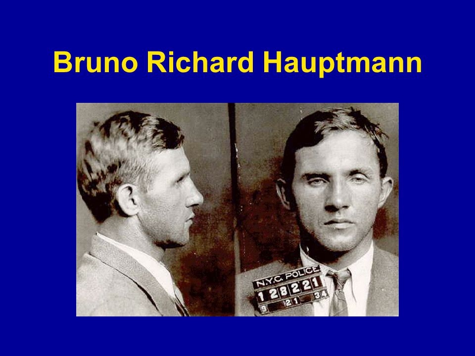 Bruno Richard Hauptmann