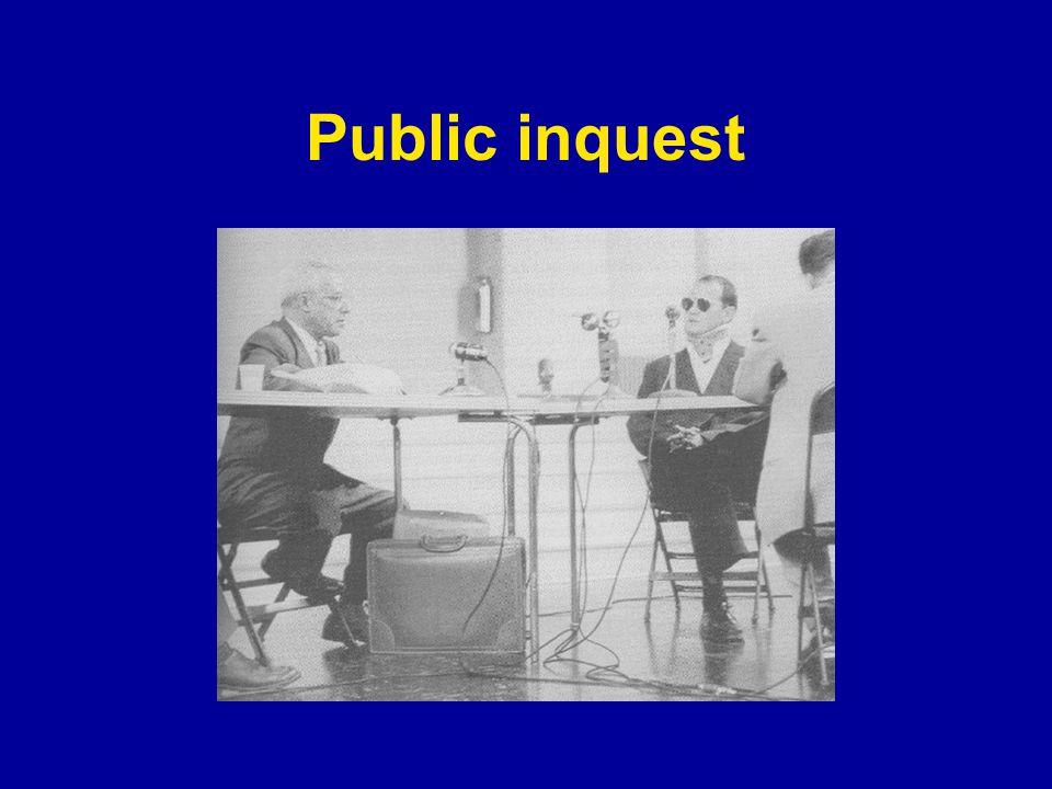 Public inquest
