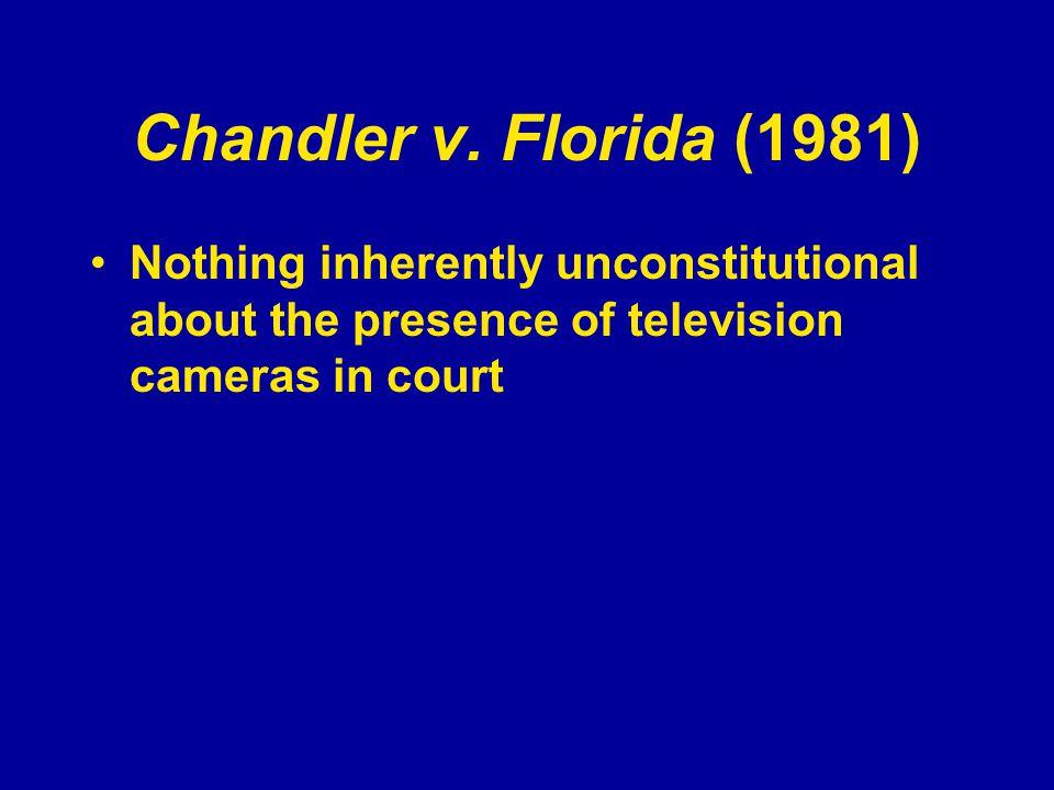 Chandler v.