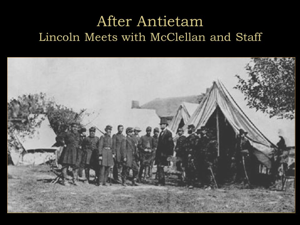 The Battle of Antietam September 1862 Bloody Lane (Library of Congress)  Bloodiest single day of the war:  Union: 12,410 casualties, double those of D-Day (June 6, 1944)  Lee lost 10,700 men, 25% of his Army.