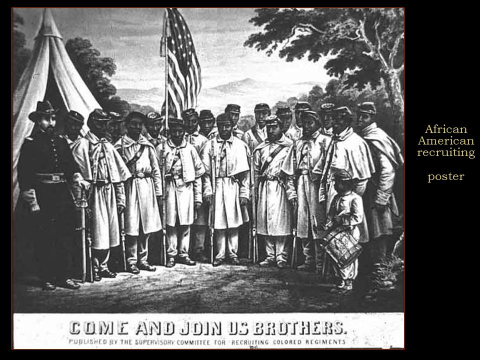 Civil War and African-Americans  54th Massachusetts Infantry  Thirteenth Amendment