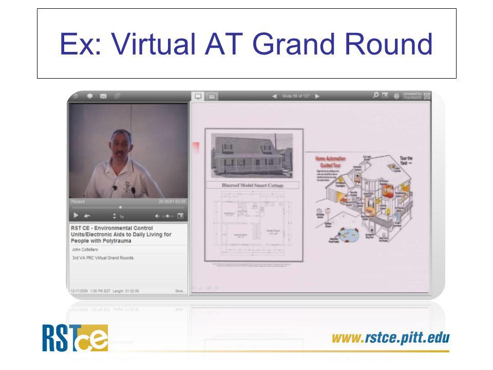 Ex: Virtual AT Grand Round
