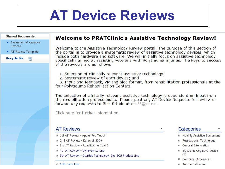 AT Device Reviews