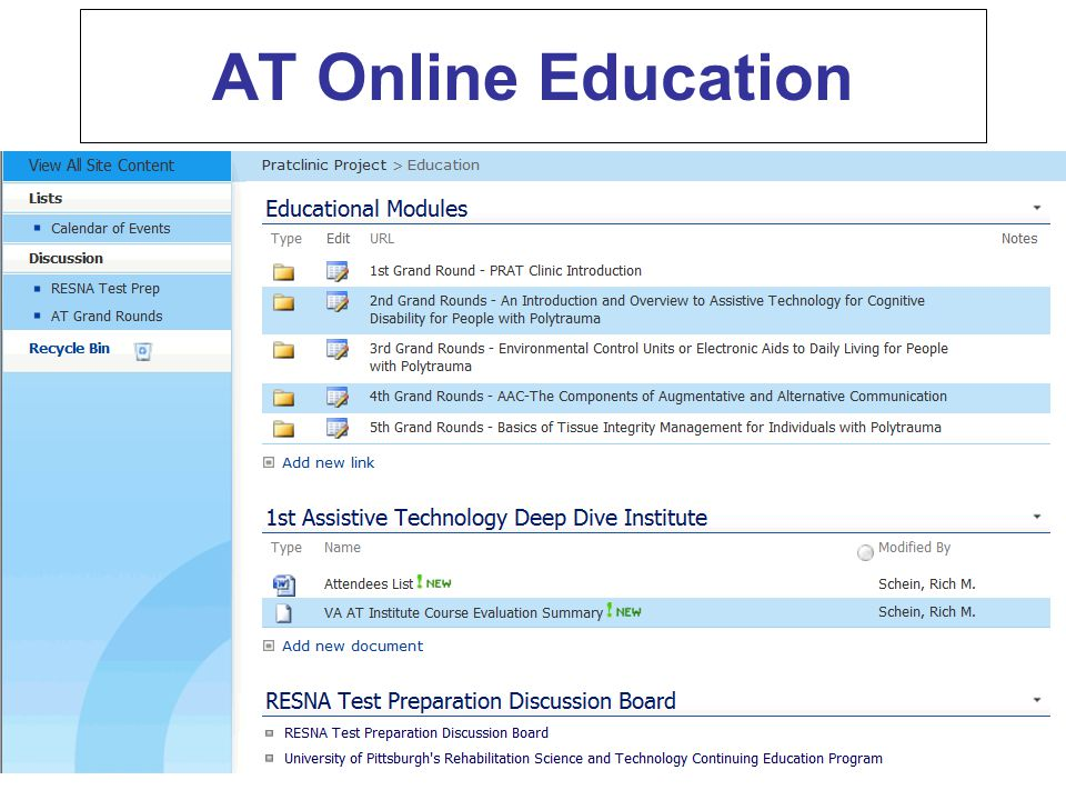 AT Online Education
