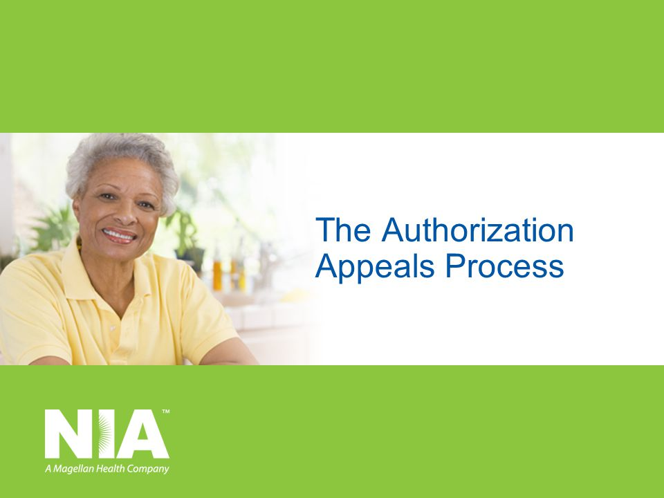 The Authorization Appeals Process