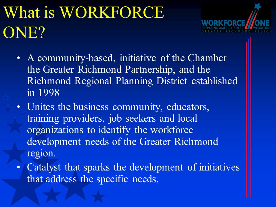 What is WORKFORCE ONE.