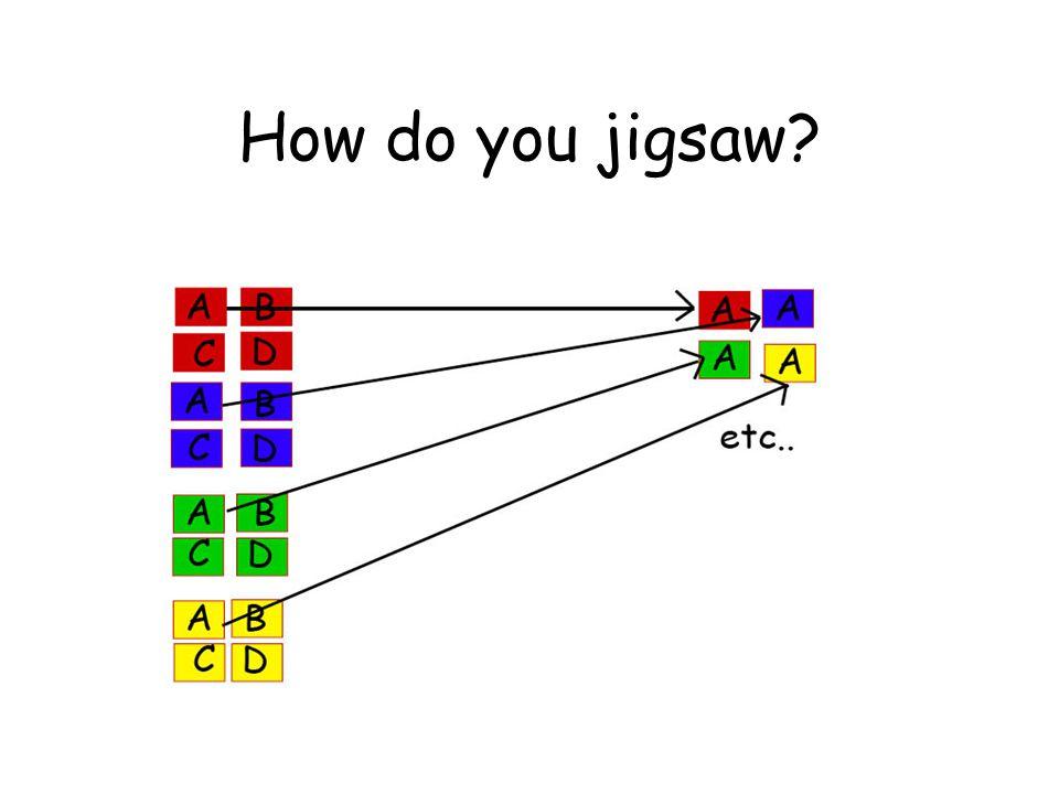 How do you jigsaw?