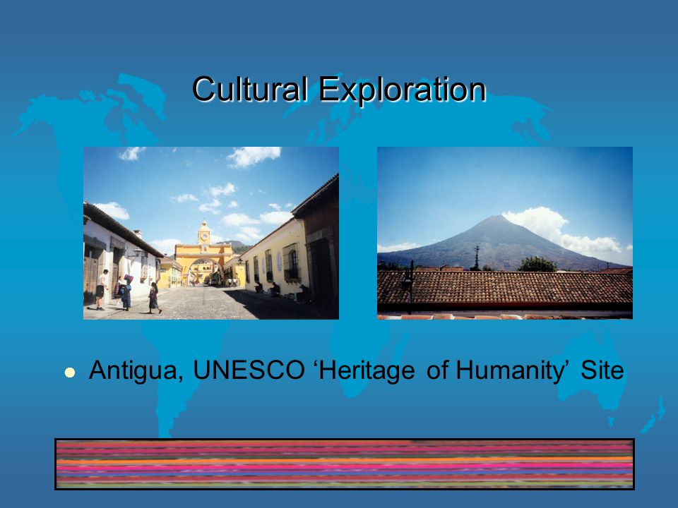 Cultural Exploration Antigua, UNESCO 'Heritage of Humanity' Site