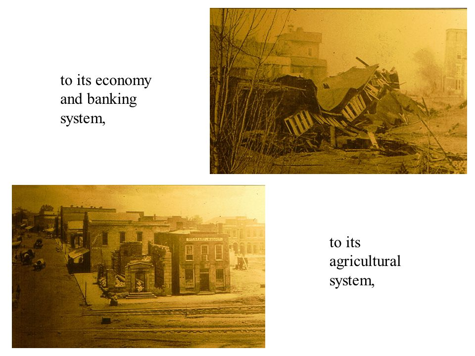 to its economy and banking system, to its agricultural system,