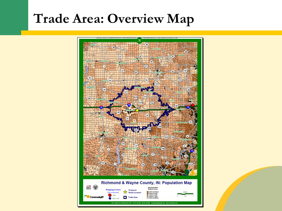 Trade Area: Overview Map