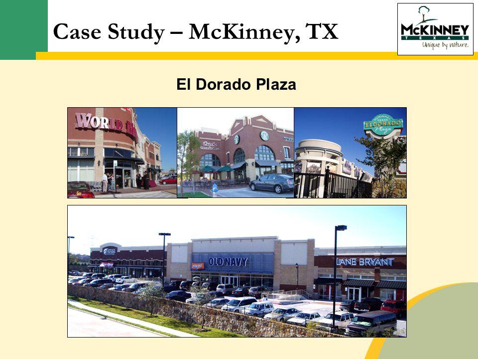 El Dorado Plaza Case Study – McKinney, TX