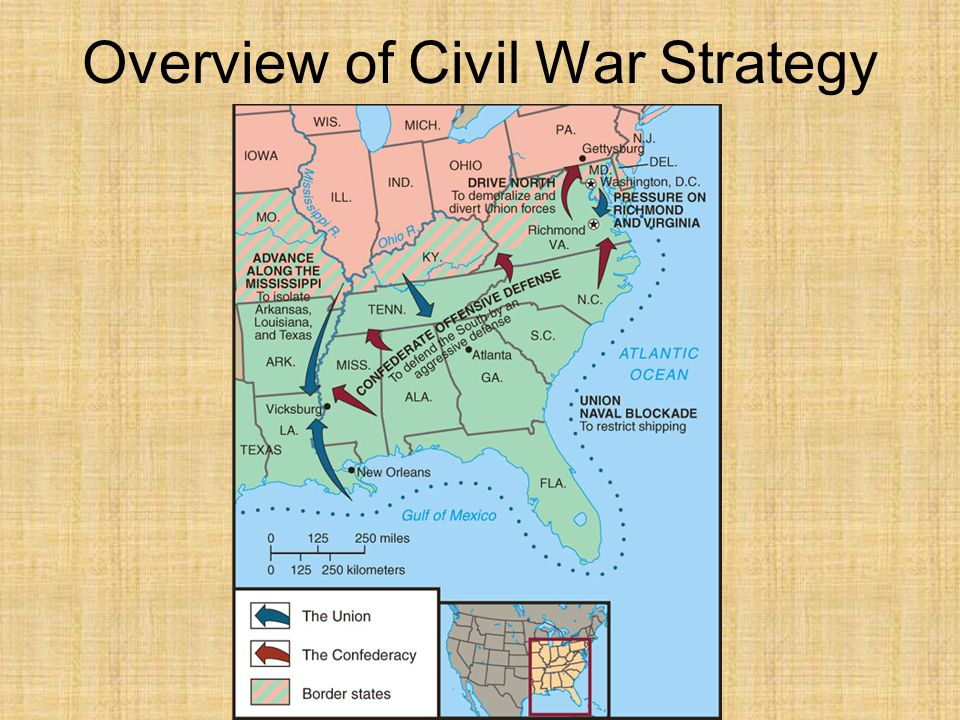 Overview of Civil War Strategy