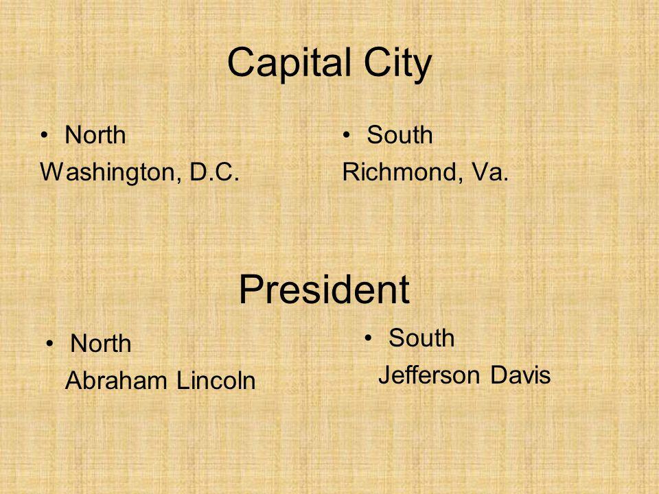 Capital City North Washington, D.C. South Richmond, Va.