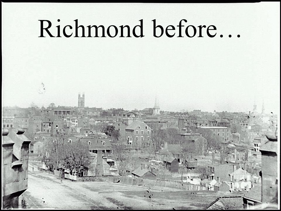 Lee set up a defense, a series of trenches, at the entrance of Richmond in a town called Petersburg. The Union also dug trenches and the two armies fa