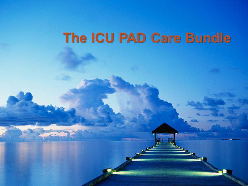 The ICU PAD Care Bundle