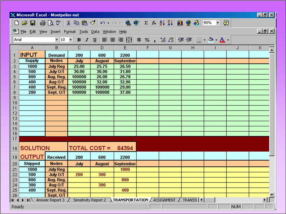 31 MONTPELIER SKI COMPANY - Spreadsheet