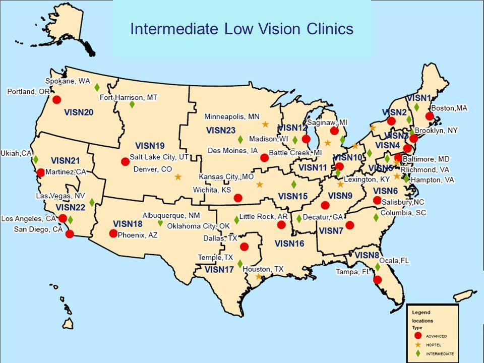 Intermediate Low Vision Clinics