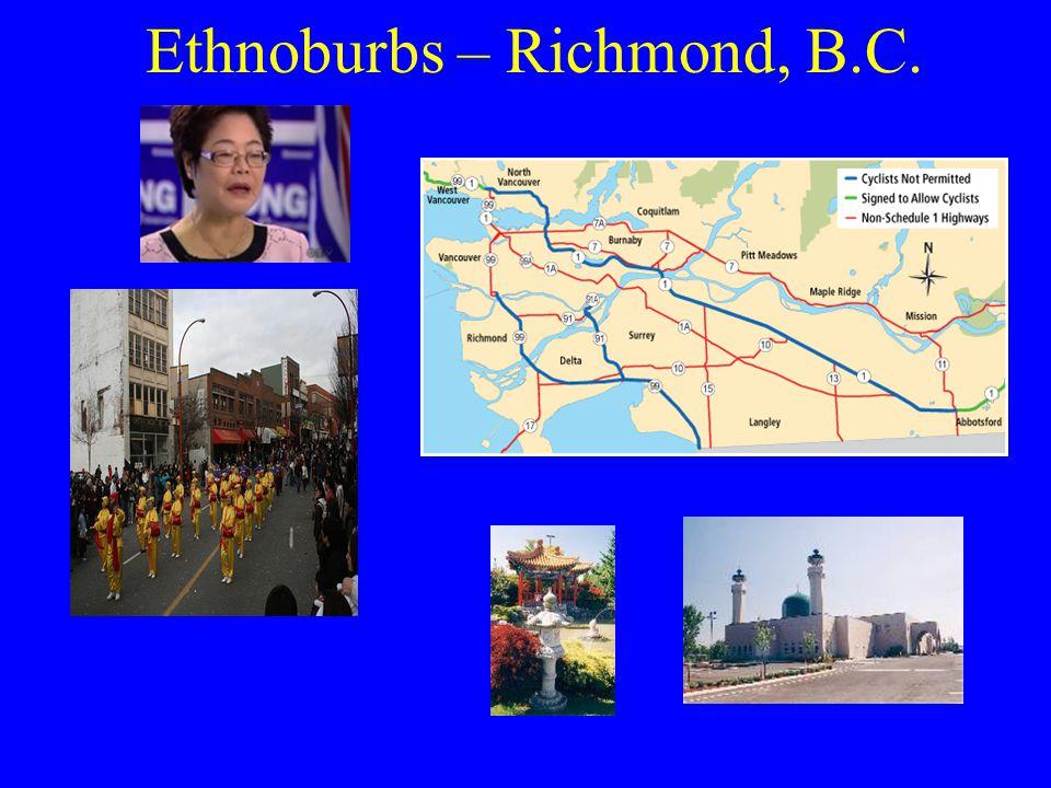 Ethnoburbs – Richmond, B.C.