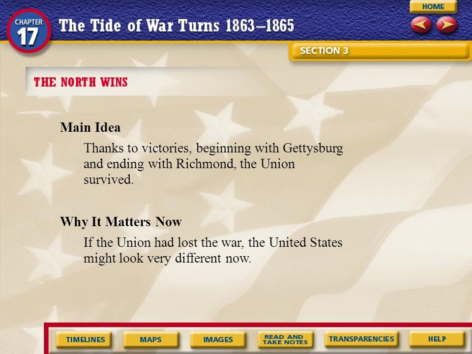 What were the key events from Section 3 that occurred between 1862 and 1866.