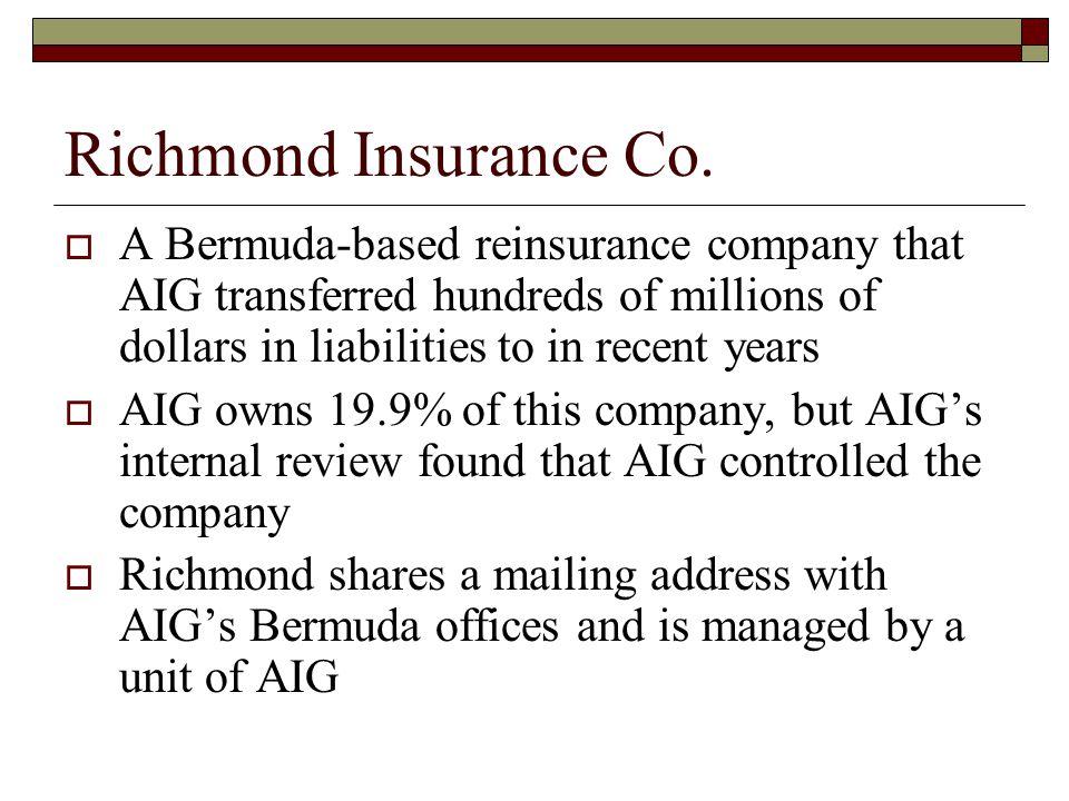 Richmond Insurance Co.