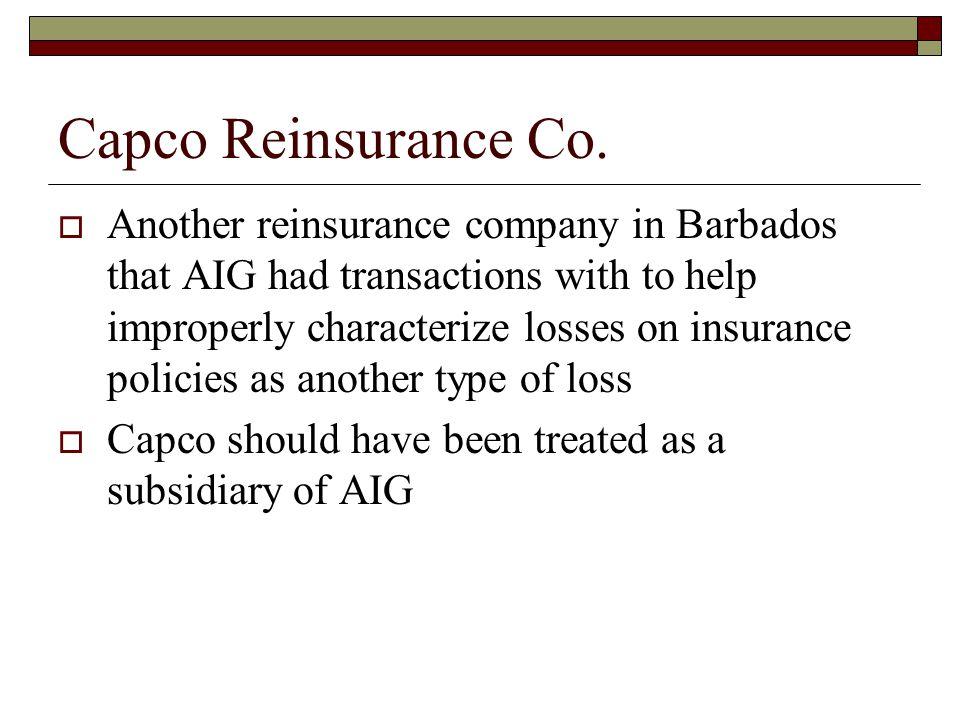 Capco Reinsurance Co.