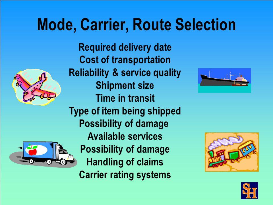 Distribution/Logistics Management