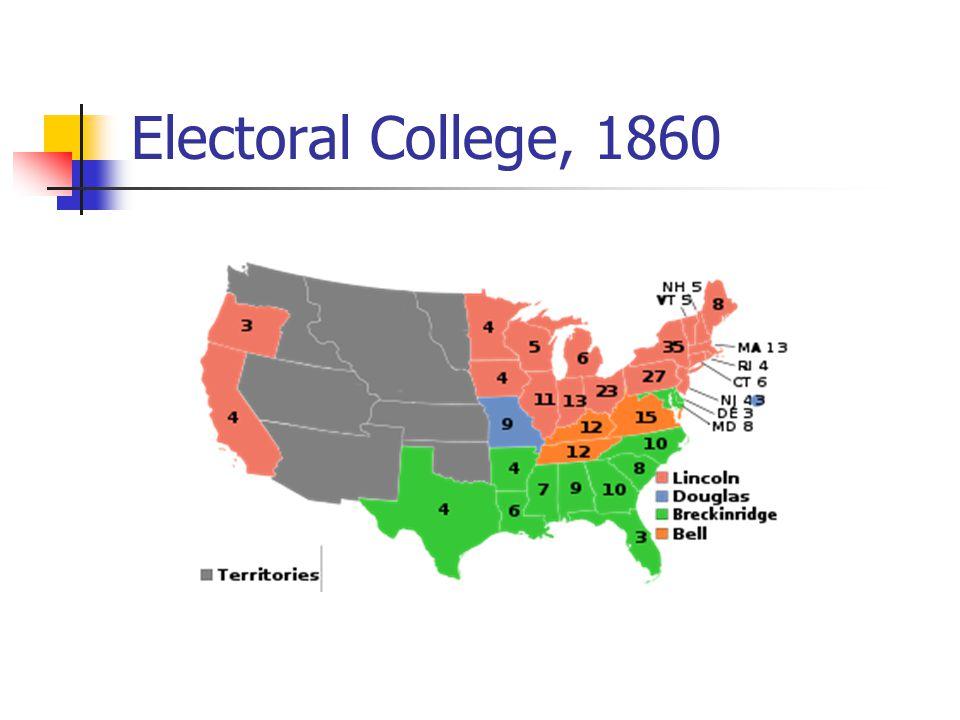 Electoral College, 1860