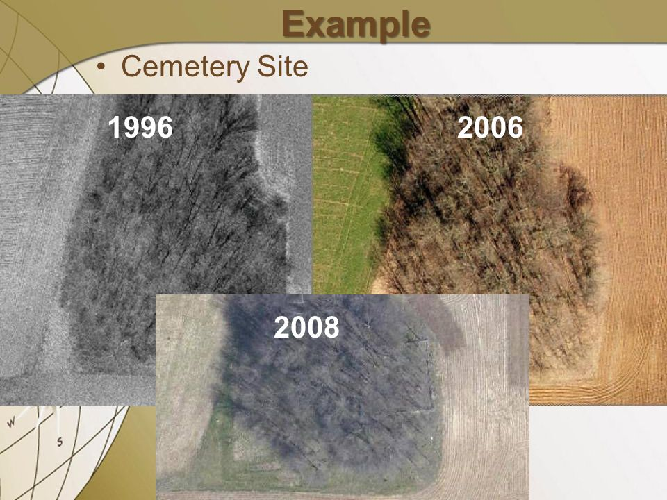 Example Cemetery Site 19962006 2008