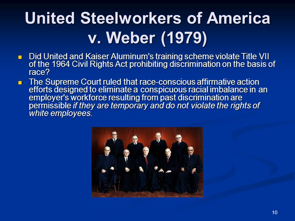 10 United Steelworkers of America v.