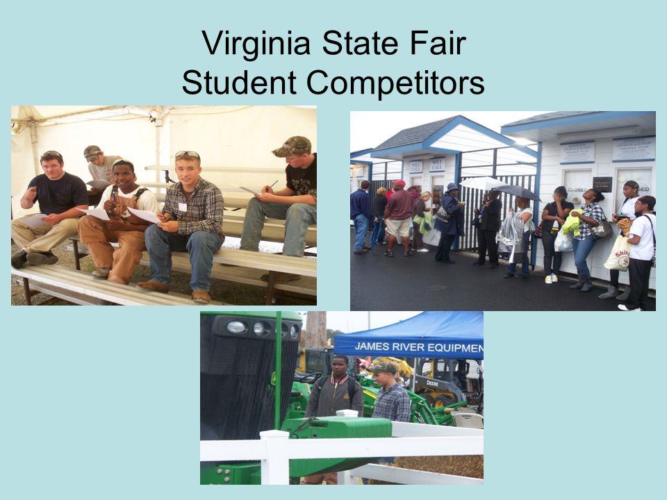 Virginia State Fair Student Competitors