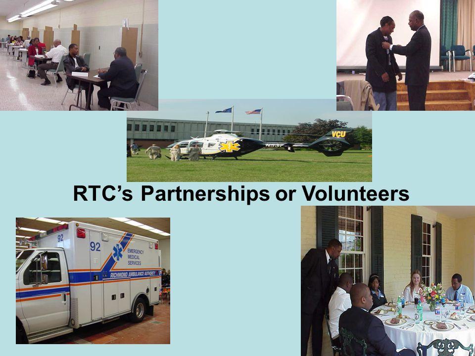 RTC's Partnerships or Volunteers