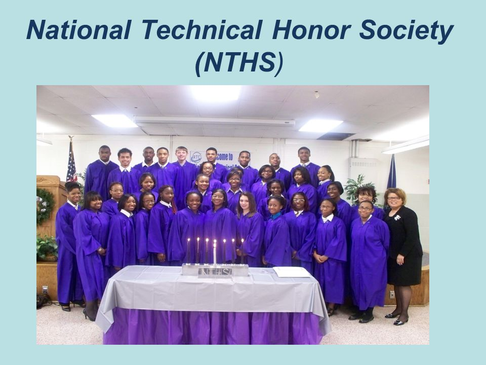 National Technical Honor Society (NTHS)
